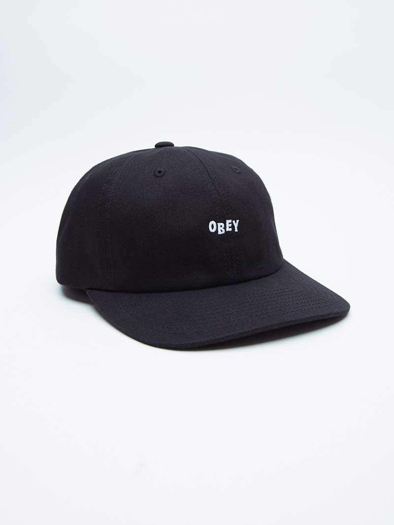 Obey Baseball Cap Cutty Curved Snapback