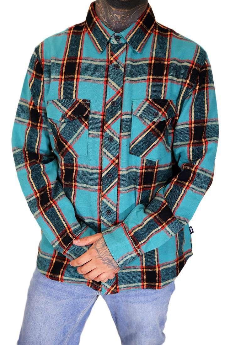 Stussy Hemd Langarm Ace Plaid Shirt