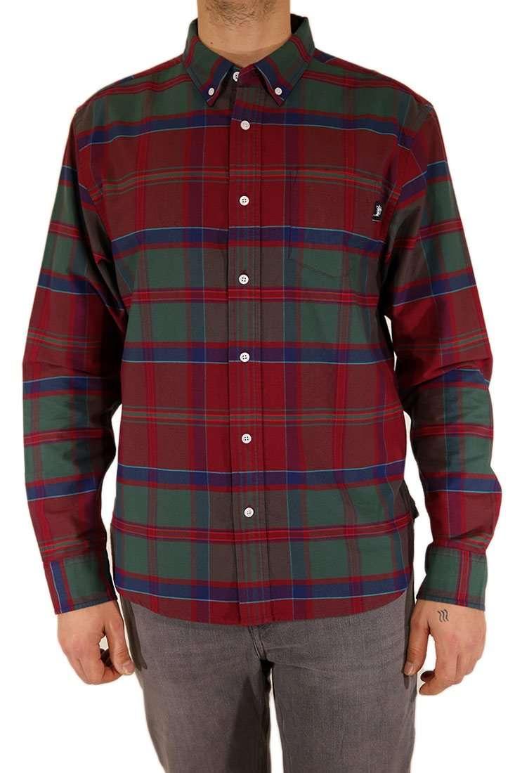 Stussy Hemd Langarm Classic Oxford Shirt