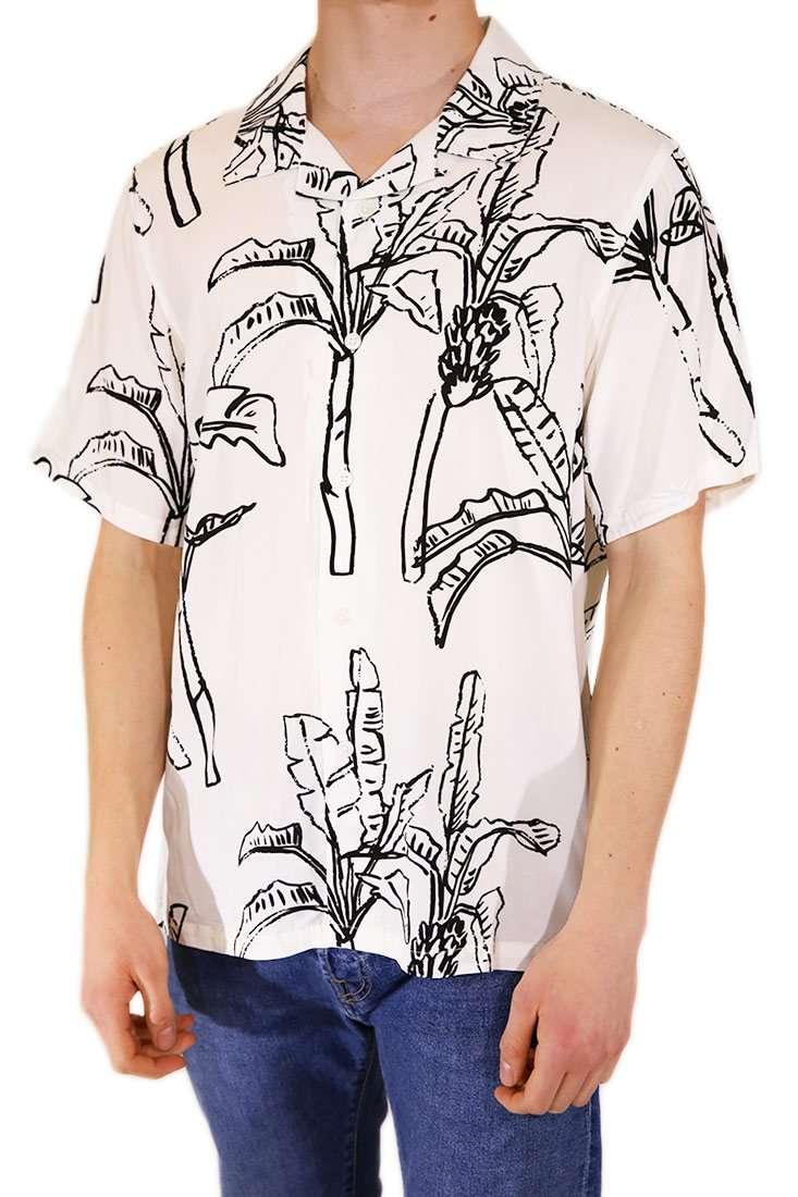 Stussy Hemd Kurzarm Banana Tree Shirt