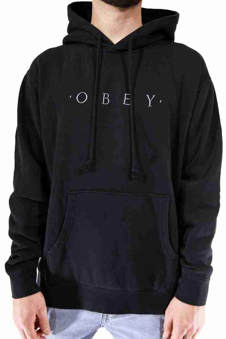 Obey Hooded Sweater Novel Pigment