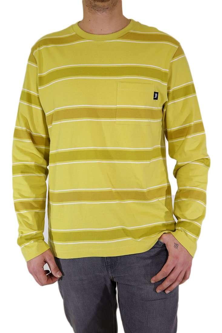 Stussy Langarm T Shirt Marco Stripe
