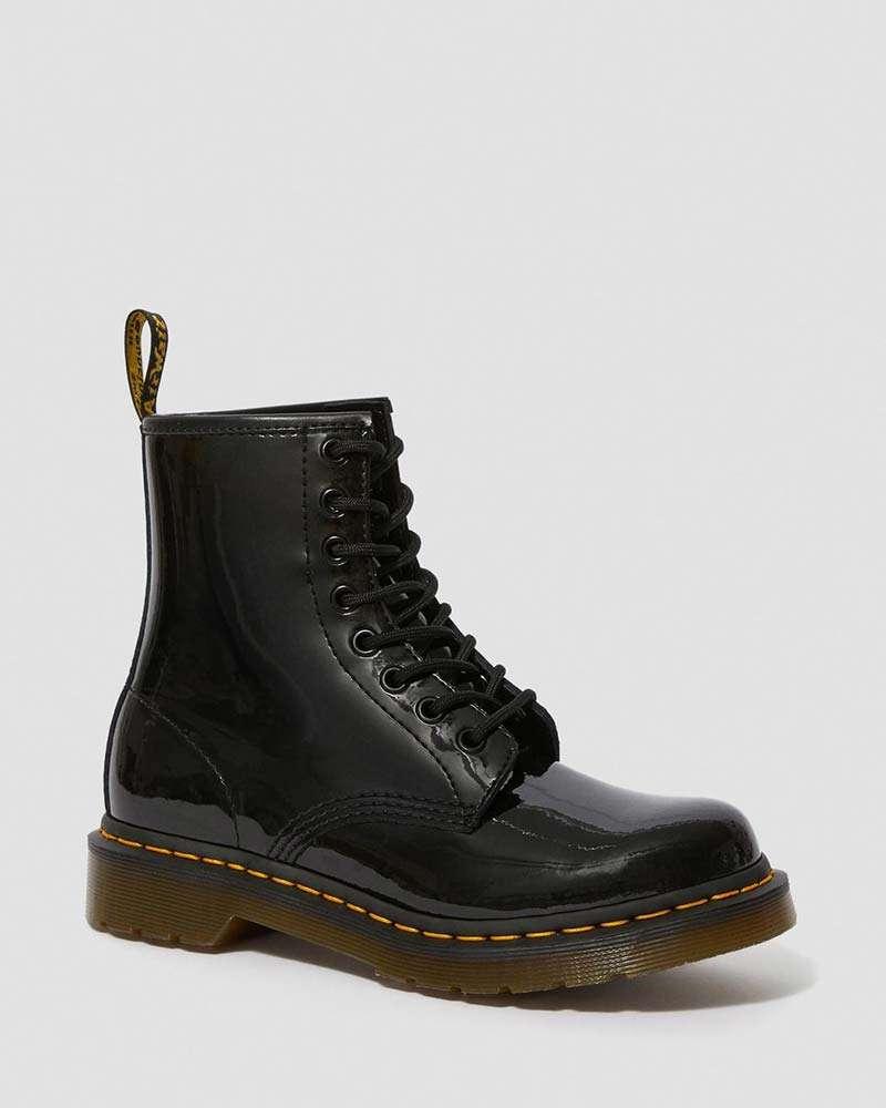 Dr. Martens Damen Street Schuhe 1460 W Lack 8-eye