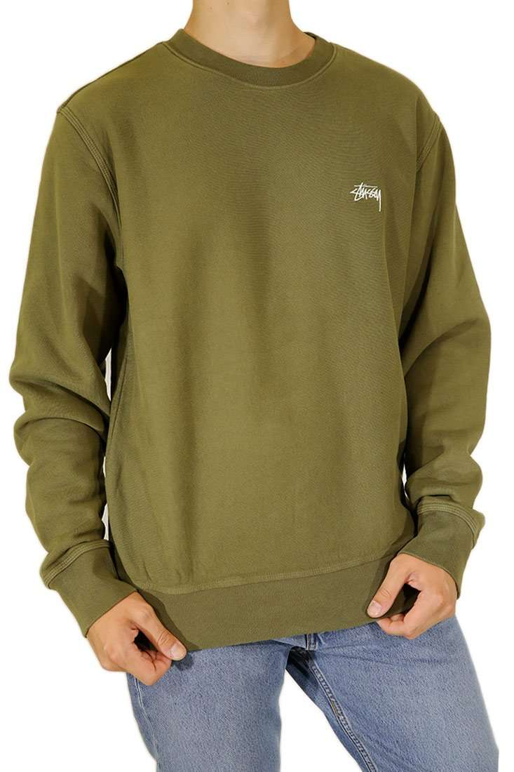 Stussy Sweater Crew Stock Logo Crew