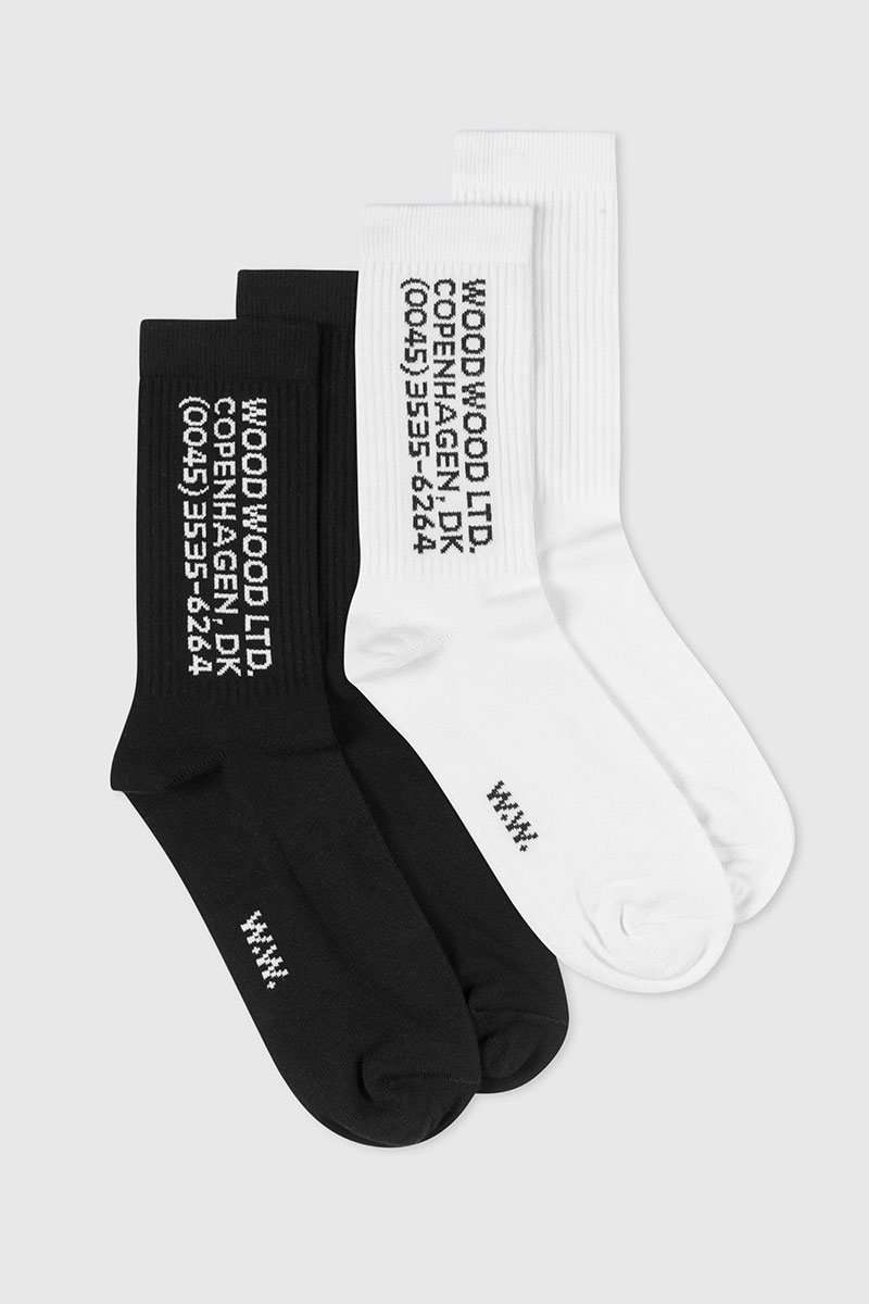 Wood Wood Socken Gail 2 Pack Socks