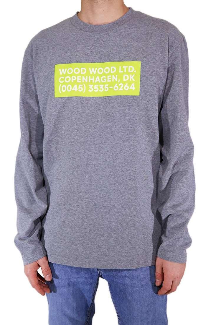 Wood Wood Langarm T Shirt Anakin LS