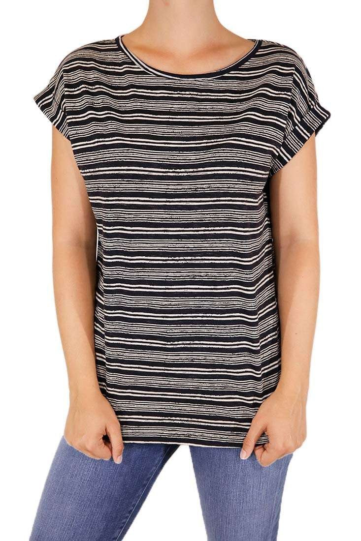 Wemoto DA T-Shirt Holly Stripe