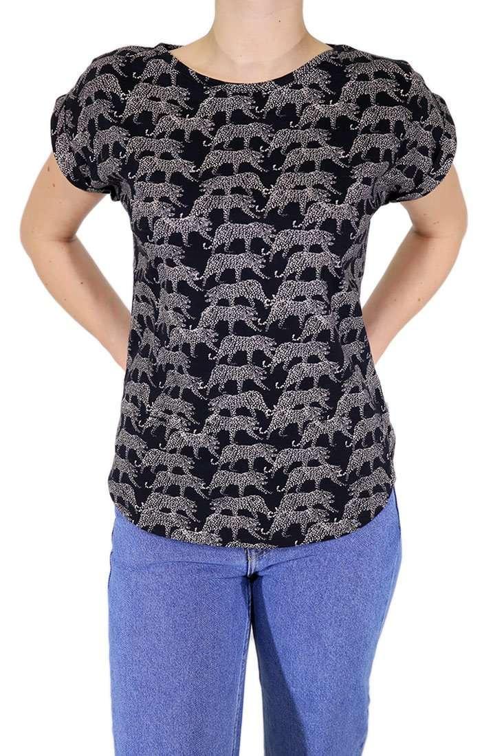 Wemoto Damen T Shirt Holly Printed