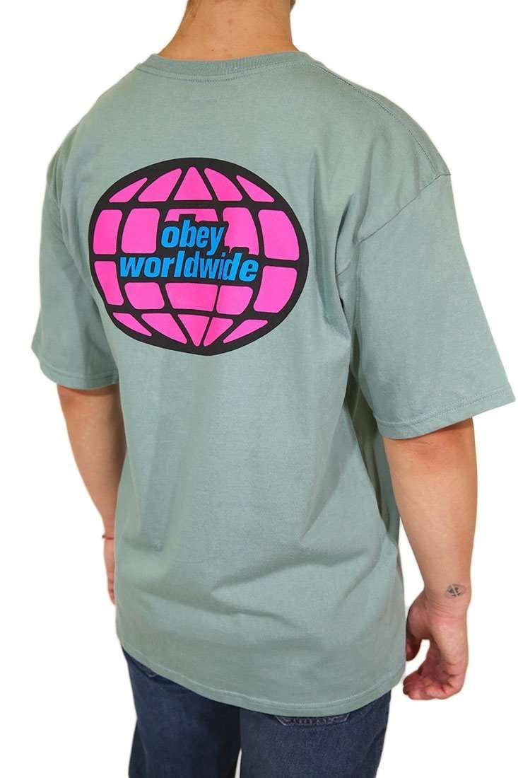 Obey T Shirt Global Worlwide