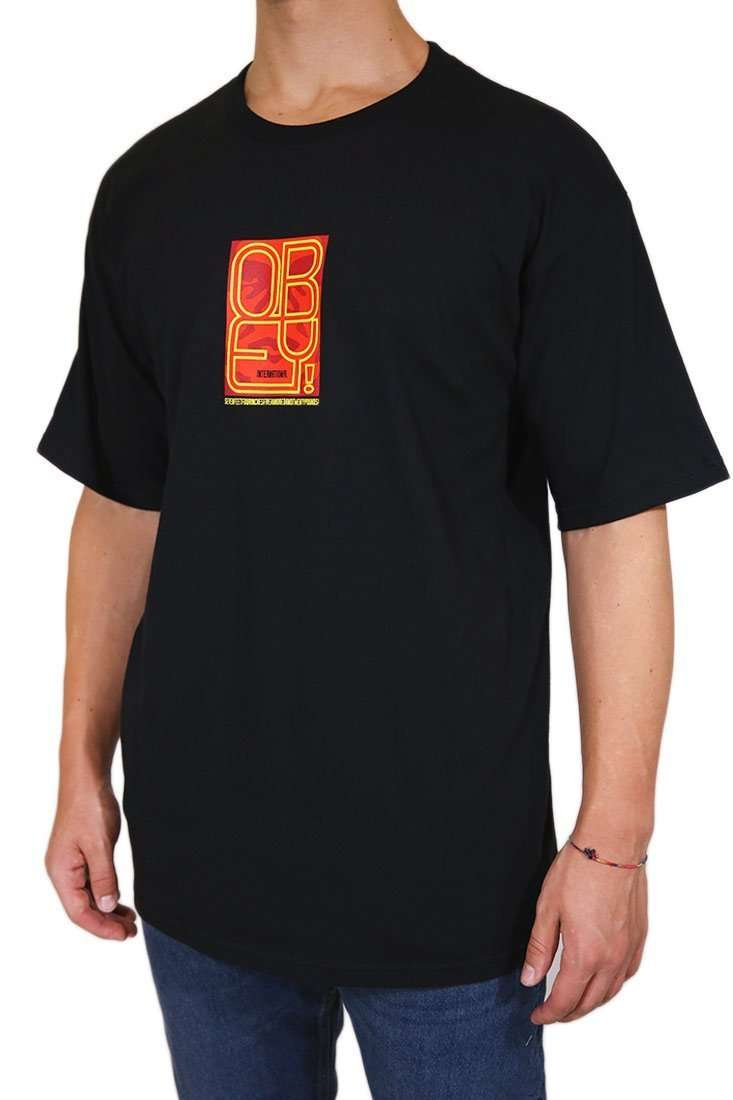 Obey T Shirt Type Icon Face