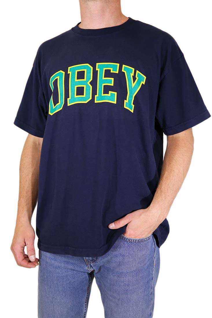 Obey T Shirt Obey Academic