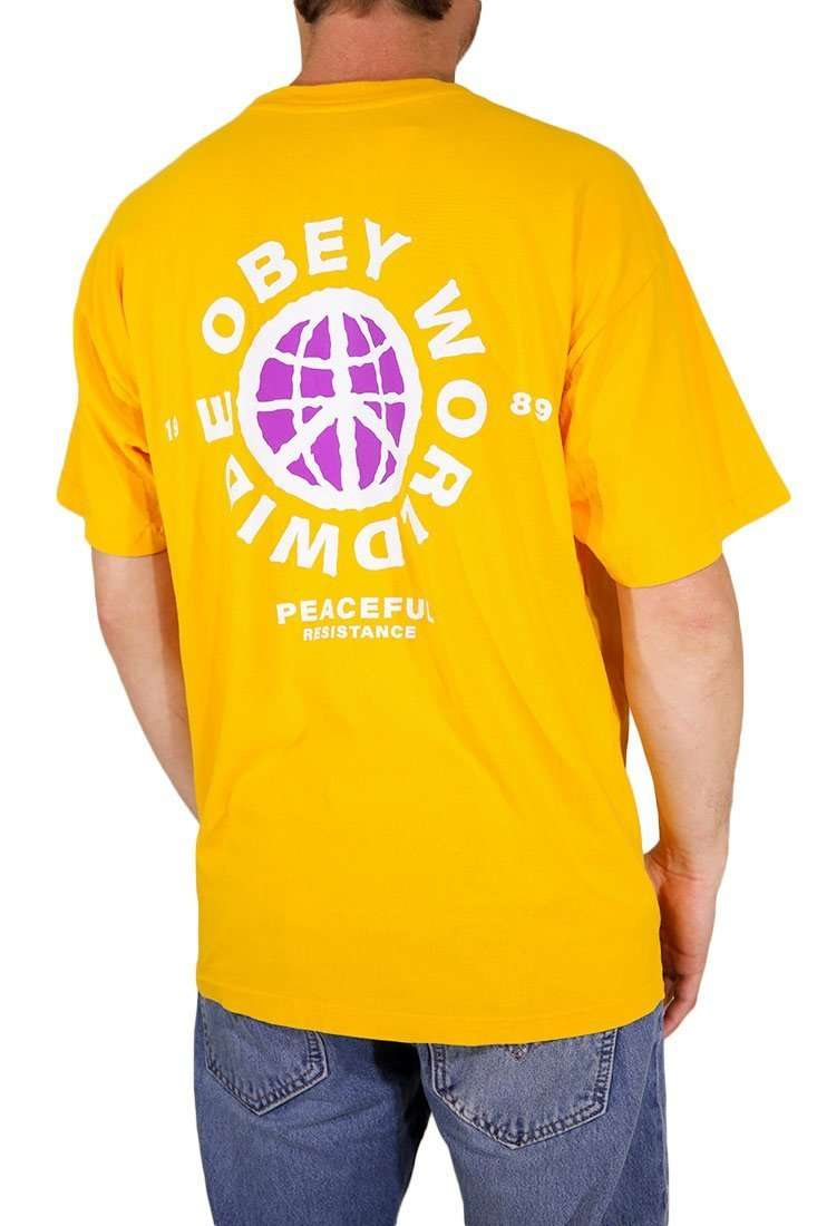 Obey T Shirt Peaceful Resistance
