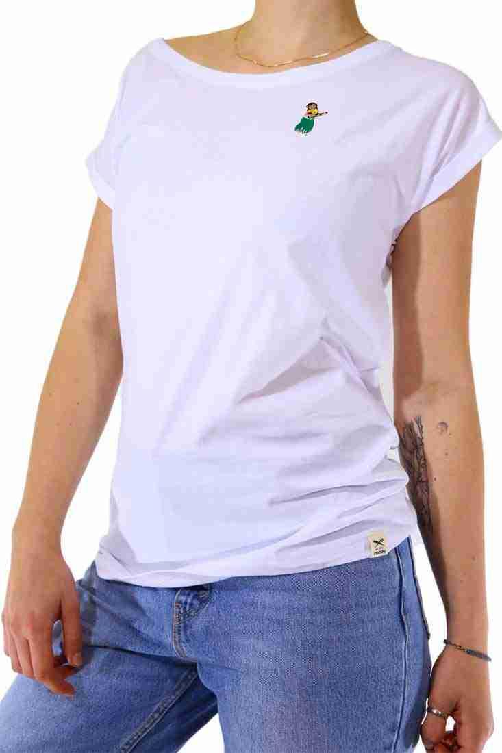 Iriedaily Damen T Shirt Hula Girl