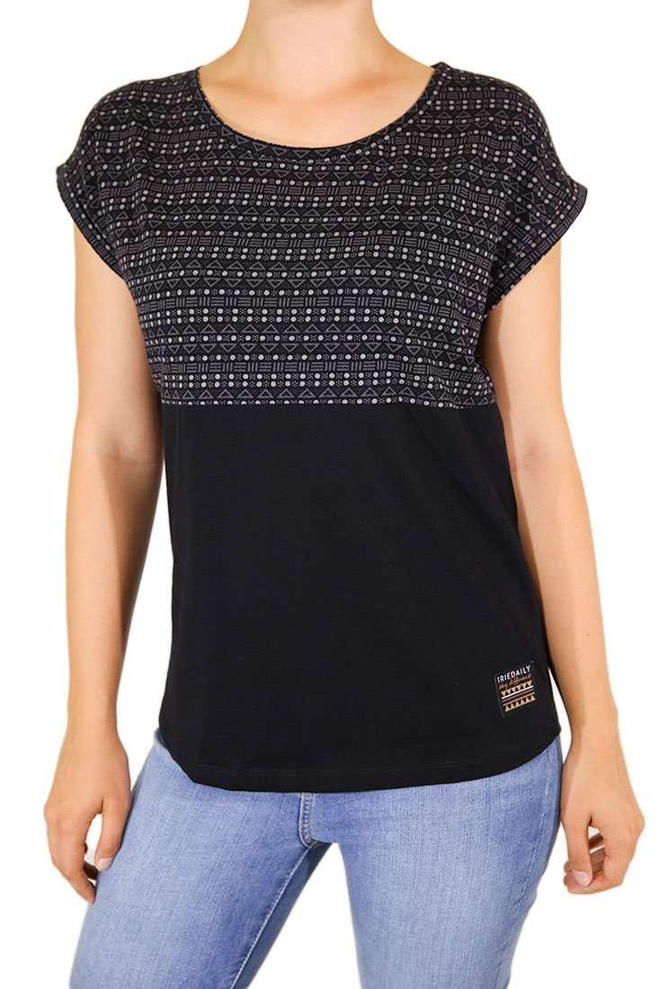 Iriedaily DA T-Shirt Ethno Block