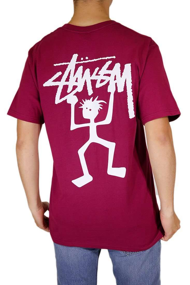 Stussy T Shirt WarriorMan