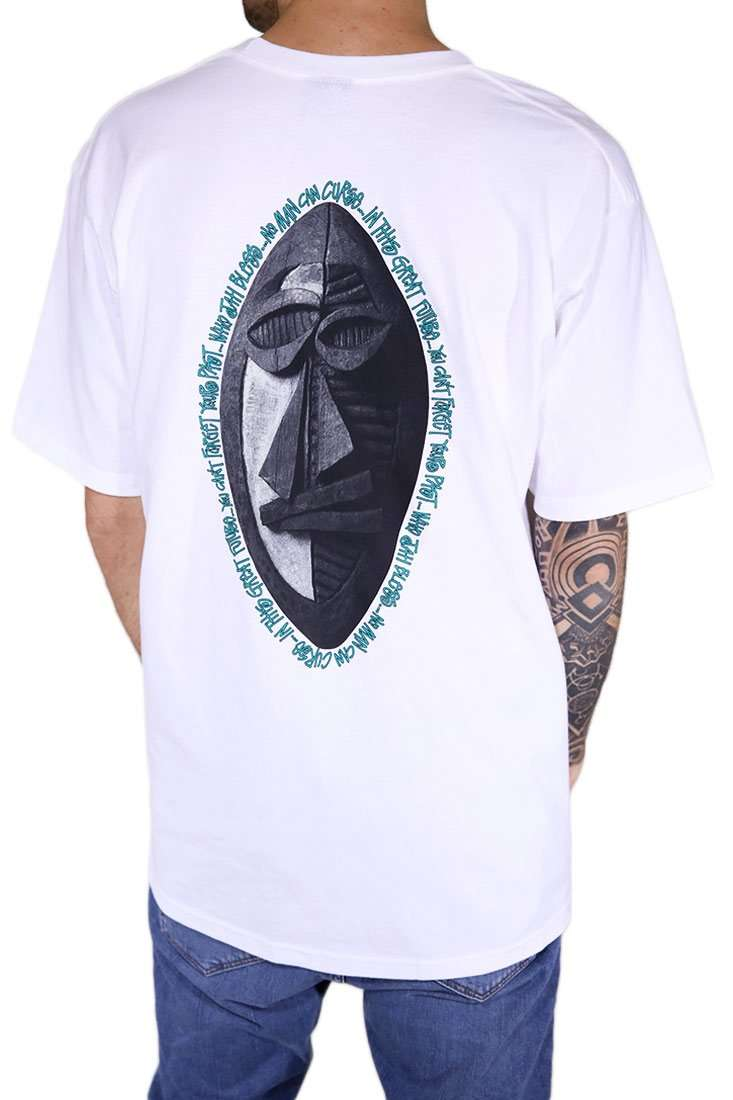 Stussy T Shirt Tribal Mask Tee