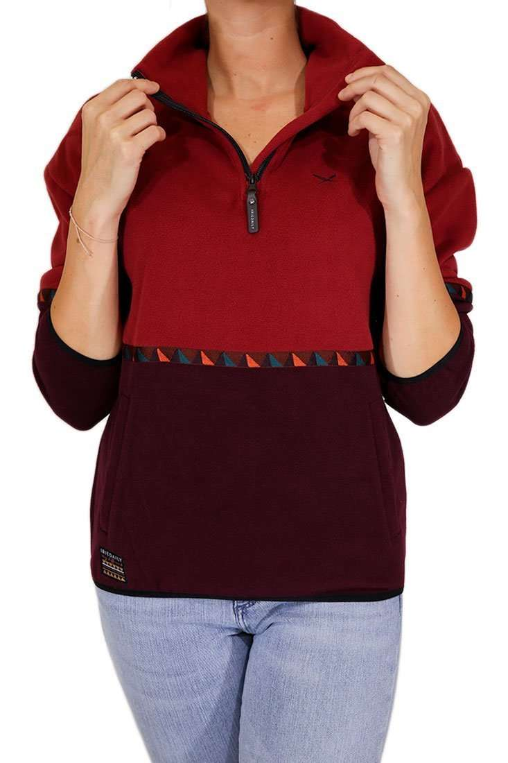 Iriedaily Damen Pullover Hopi Fleece Troyer