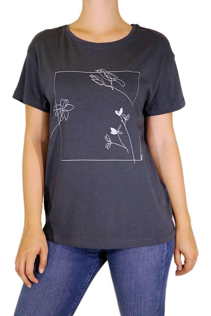 Armedangels Damen T Shirt Nelaa Flower Frame