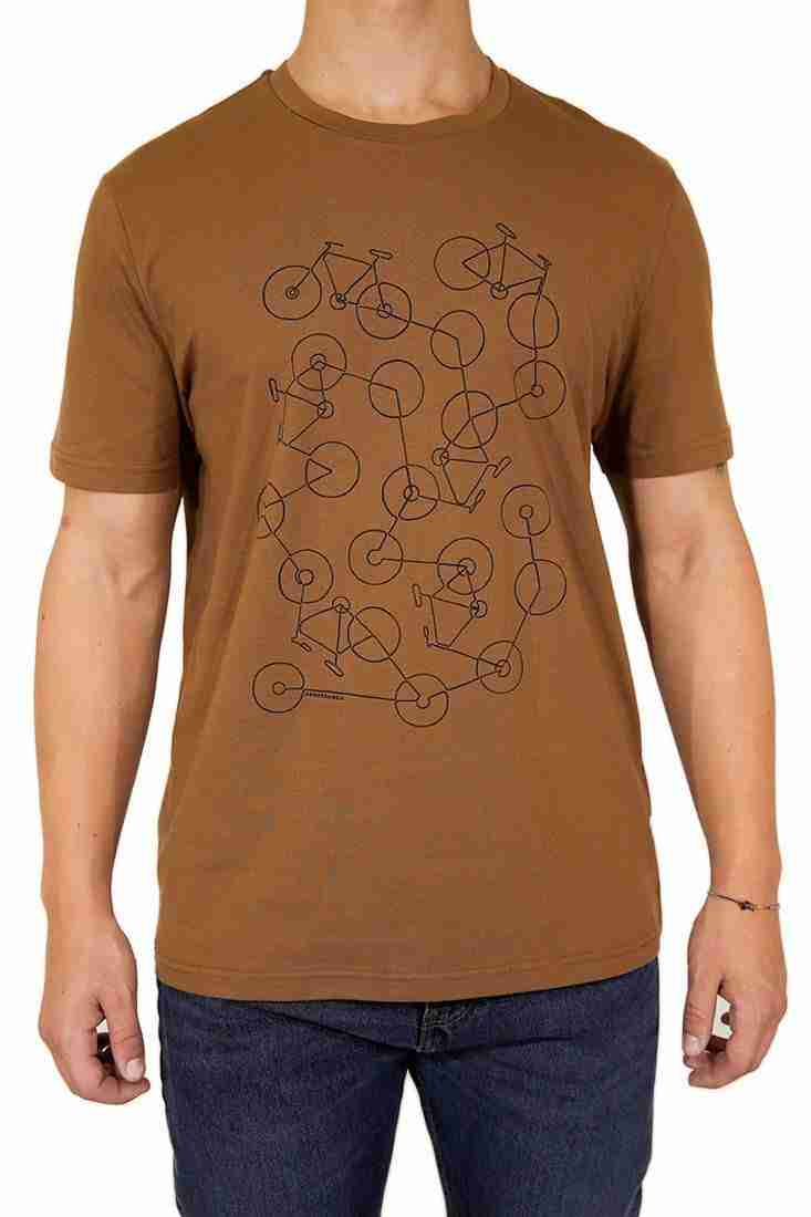 Armedangels T Shirt Jaames Bike Chaos