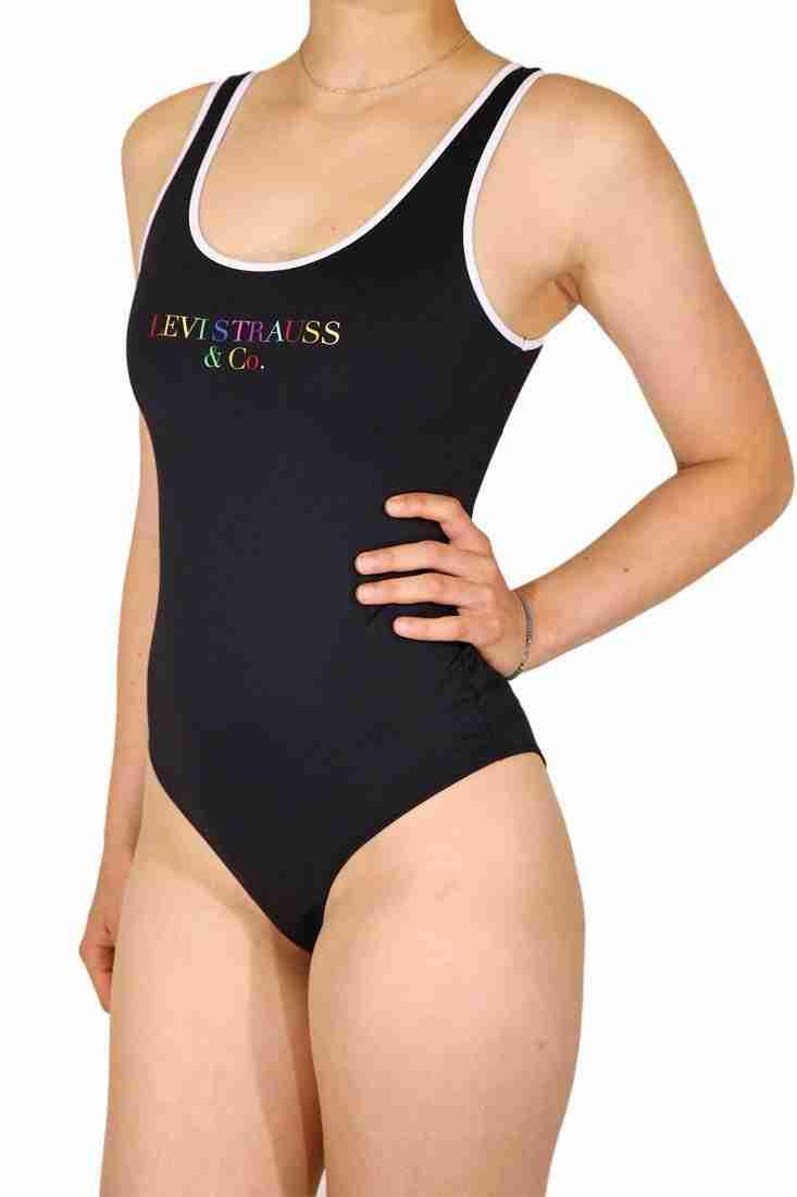 Levi's Fashiontop Graphic Bodysuit 90's Text Logo