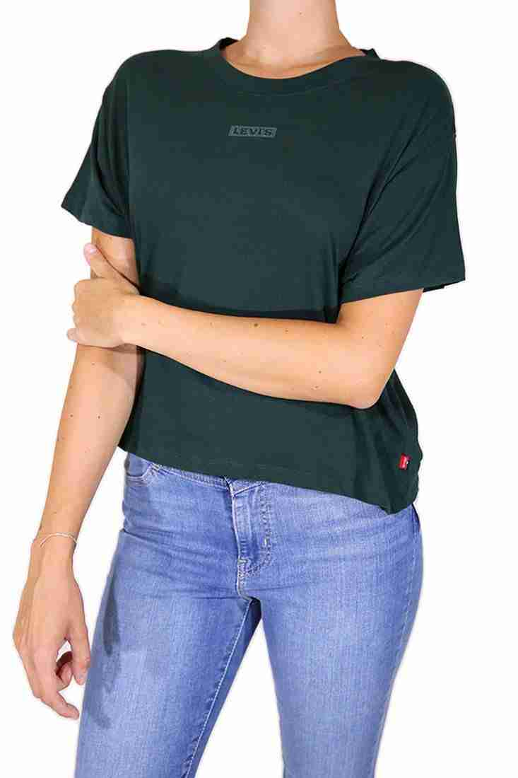 Levi's Damen T Shirt Graphic Varsity Tonal Baby Tab