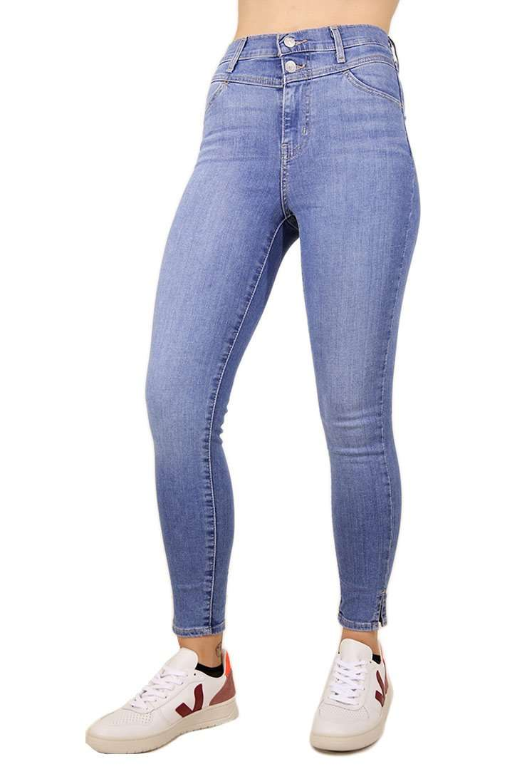 Levi's Damen Skinny Jeans Mile High Ankle Yoke