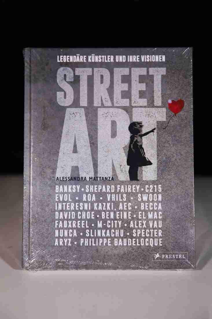 Morawa Bücher Street Art