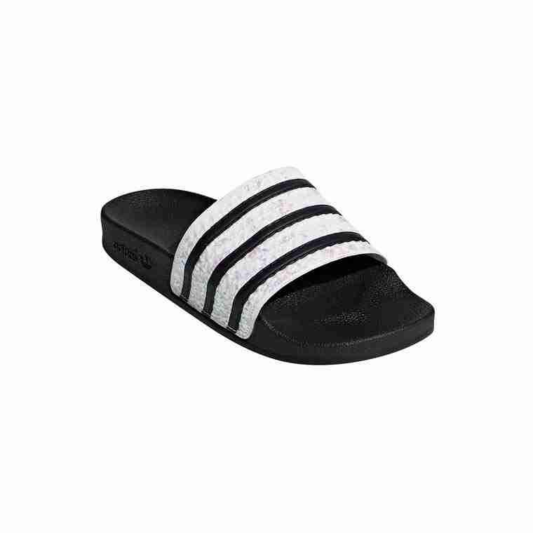 Adidas Originals Damen Sandalen Adilette Glitzer