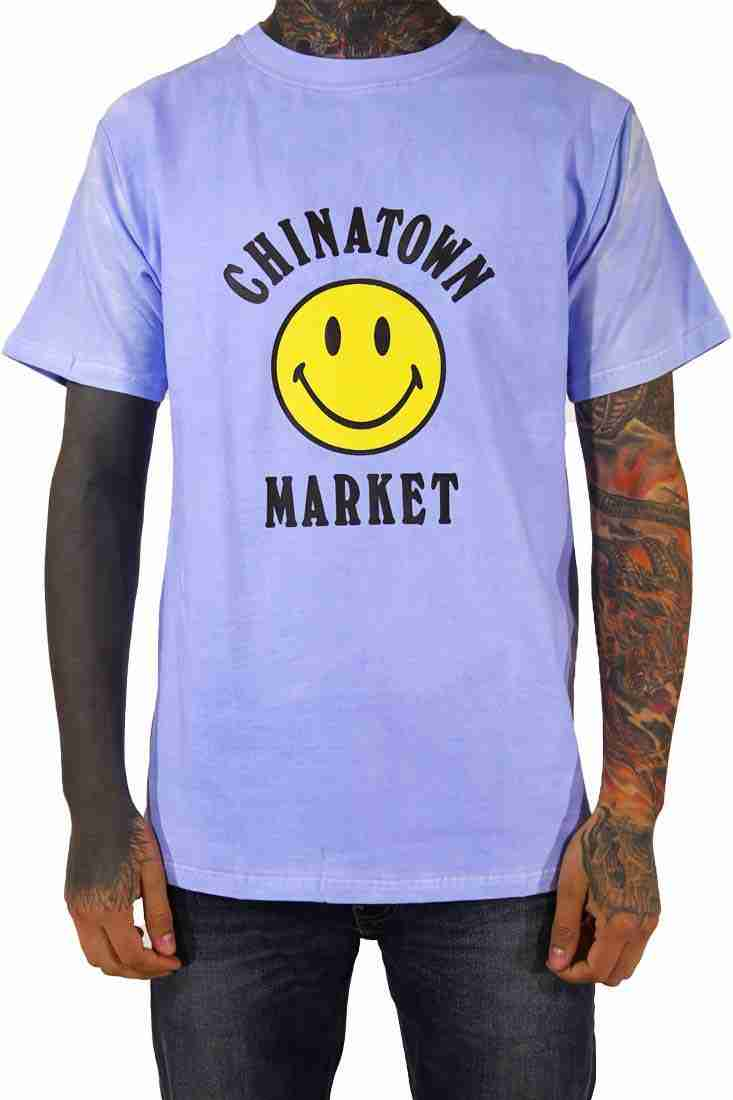 Chinatown Market T Shirt Smiley – ändert Farbe in der Sonne!