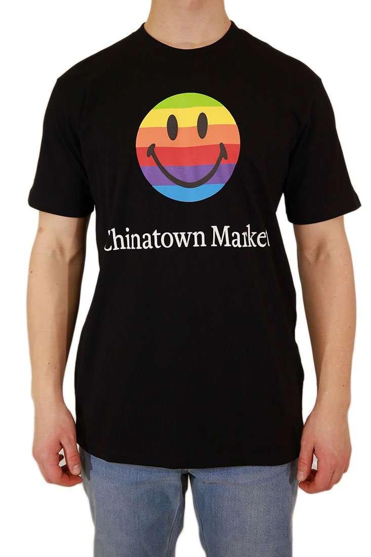 Chinatown Market T Shirt SMILEY RAINBOW T-SHIRT