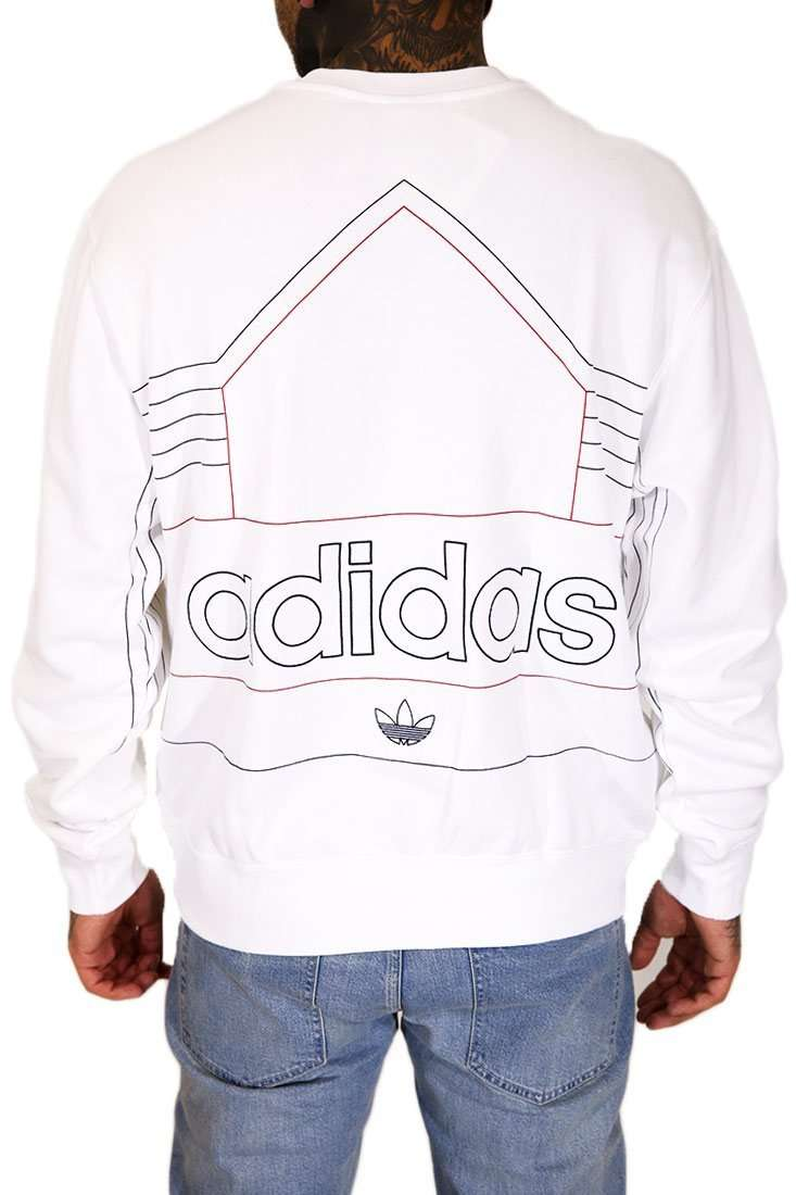 Adidas Originals Sweater Crew Rivalry