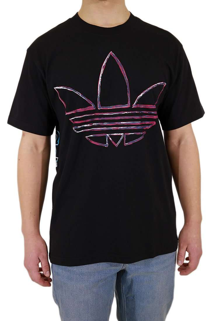 Adidas Originals T Shirt Watercolor
