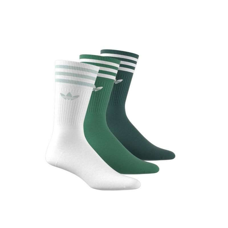 Adidas Originals Damen Socken Solid Crew Sock 3er Pack