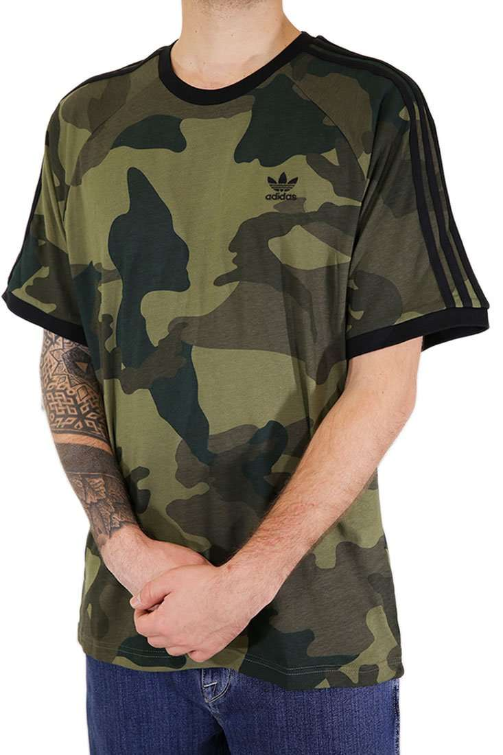 Adidas Originals T Shirt Camo Cali