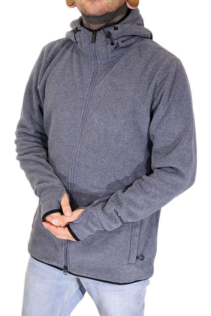 Volcom Zip Hood Polartec Fleece
