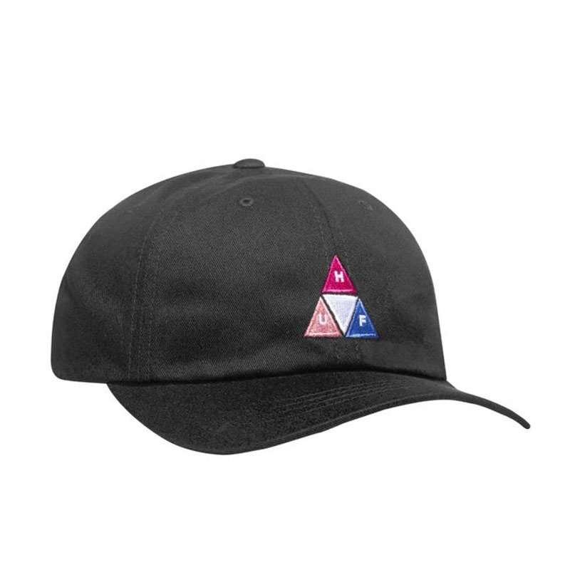 Huf Baseball Cap Peak Logo 6 Panel
