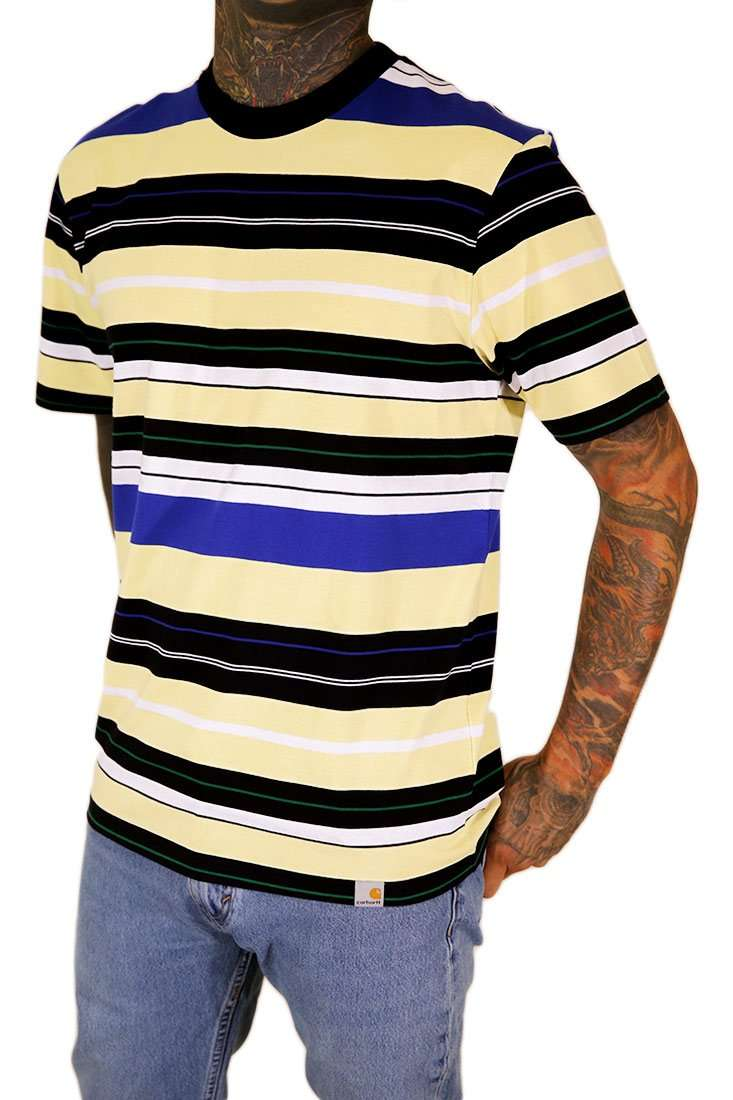 Carhartt WIP T Shirt Flint Stripe