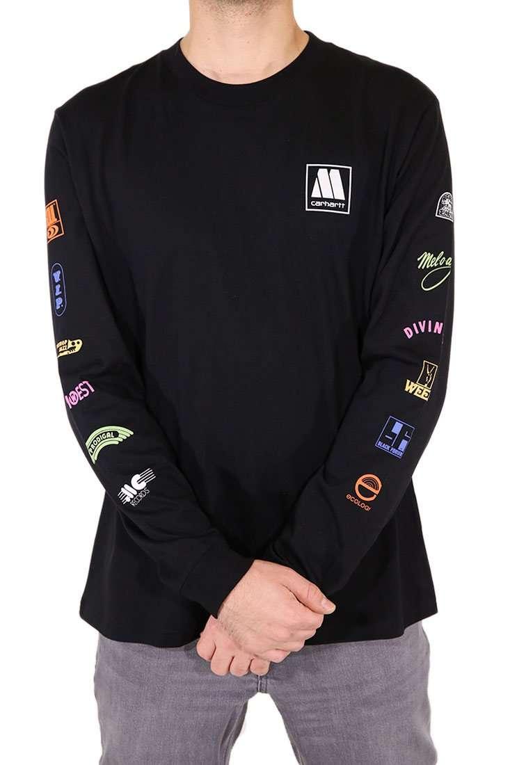 Carhartt WIP Langarm T Shirt Motown Sublabels