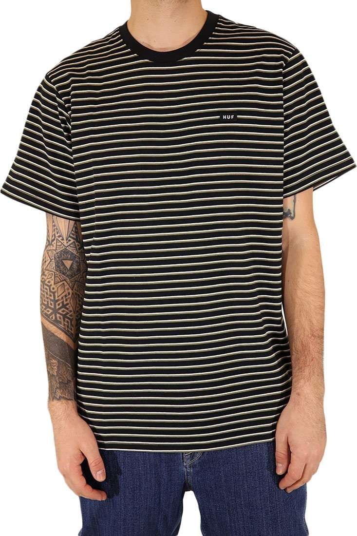 Huf T Shirt Davis Striped