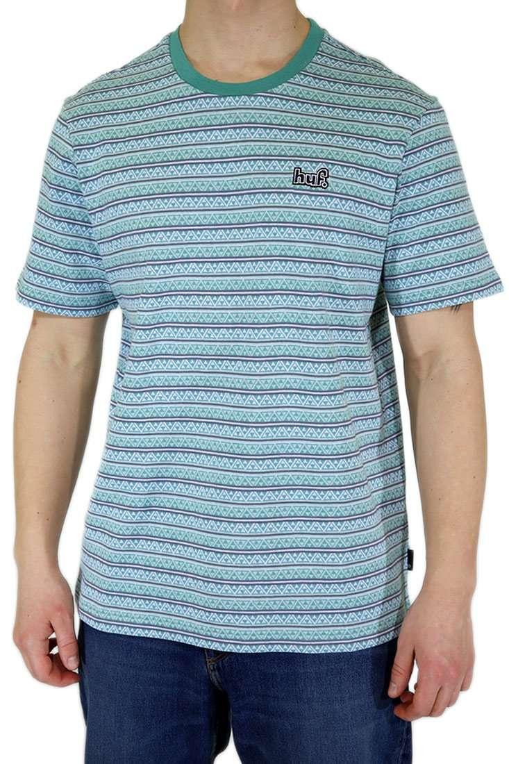 Huf T Shirt Allen Stripe