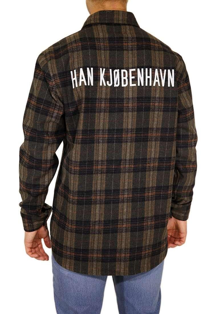 Han Kjobenhavn Hemd Langarm Army Shirt