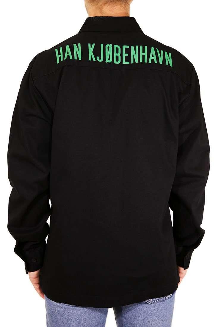 Han Kjobenhavn Hemd Langarm Boxy Shirt