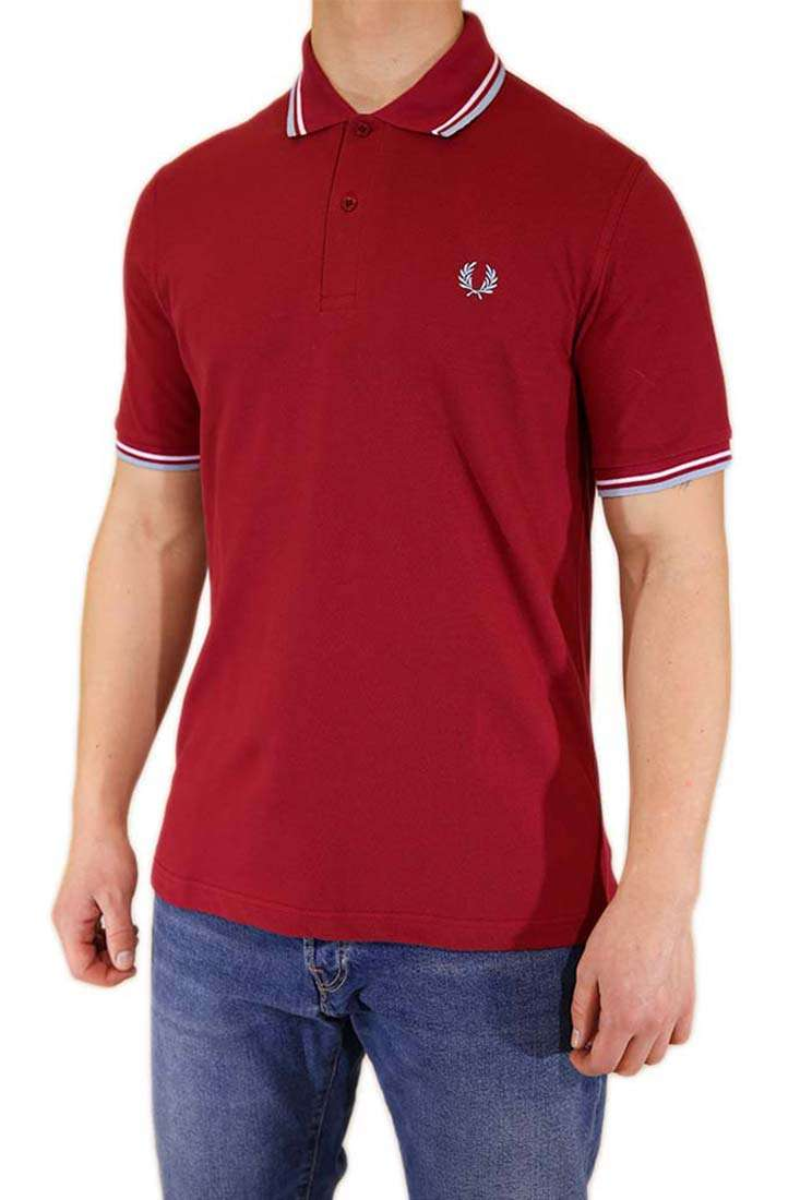 Fred Perry Made in England Polo Kurzarm M12 Made in England