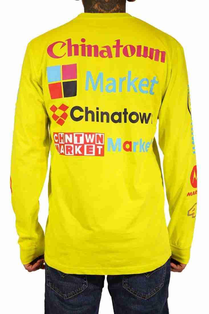 Chinatown Market Langarm T Shirt Nascar