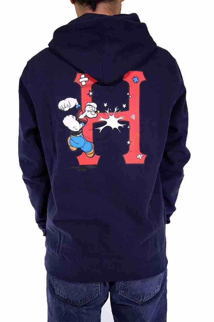 Huf Hooded Sweater Popeye Classic H