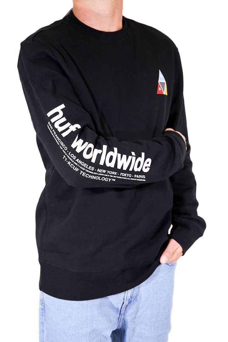 Huf Sweater Crew Prism Crewneck