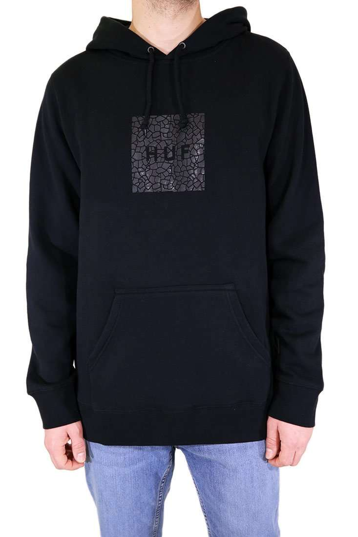 Huf Hooded Sweater Quake Box Logo