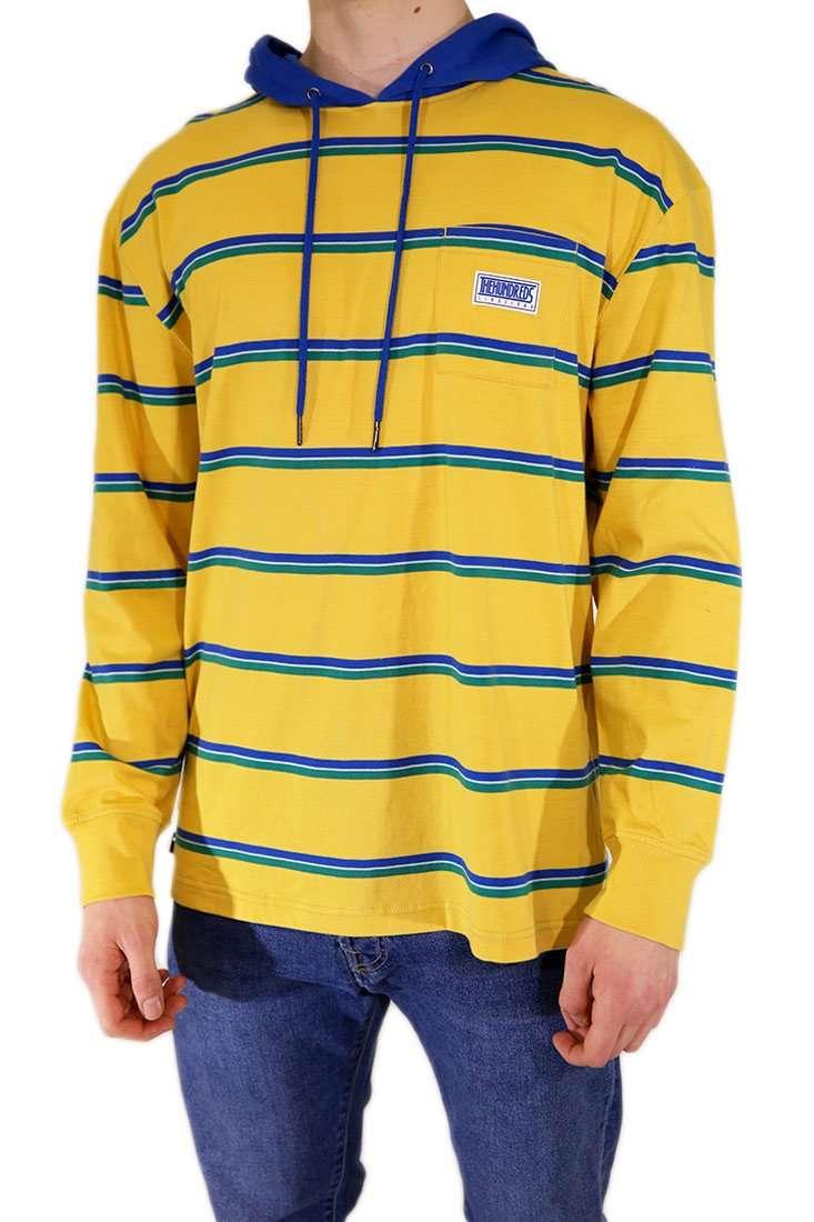 The Hundreds Langarm T Shirt Ridge Hooded LS