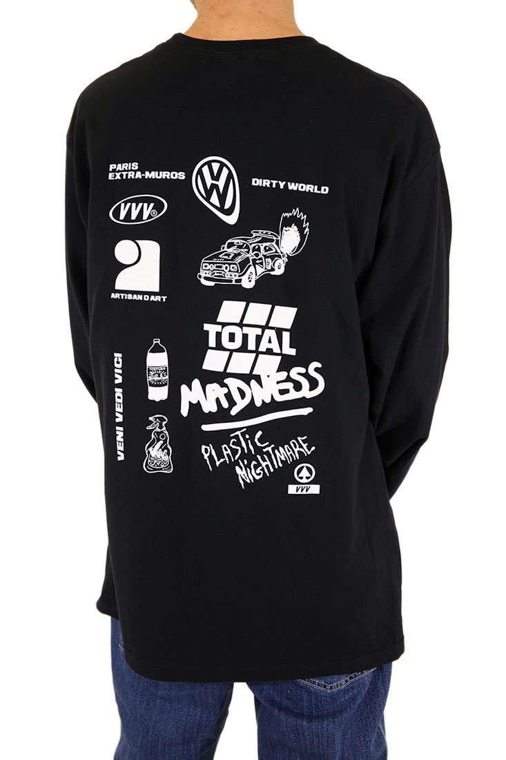 VVV Langarm T Shirt Total Madness