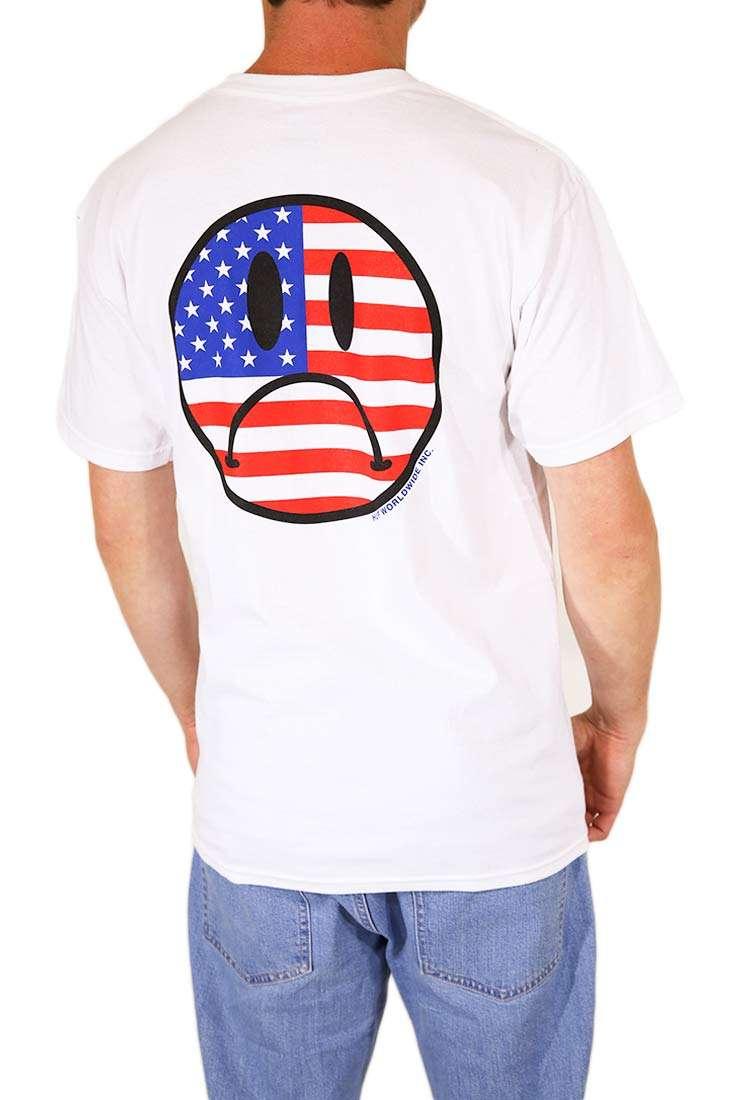 Huf T Shirt Bummer USA